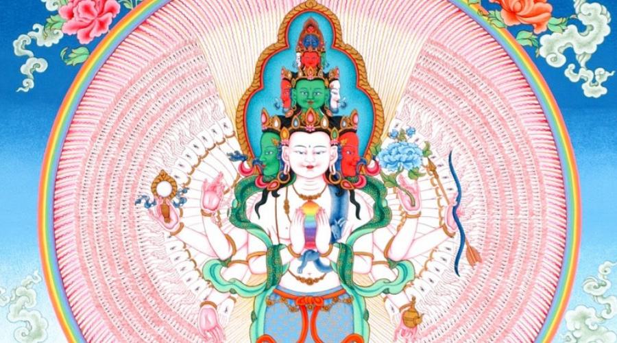 Chenrezig Boeddha van compassie